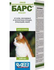 Барс спрей инсектоакарицидный для кошек