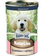 """""""Natur Line"""" для щенков телятина с сердцем"""
