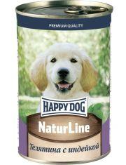 """""""Natur Line"""" для щенков телятина с индейкой"""