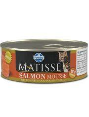 MATISSE Salmon Mousse  мусс для взрослых кошек с лососем