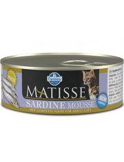 MATISSE Sardine Mousse мусс для взрослых кошек с сардинами