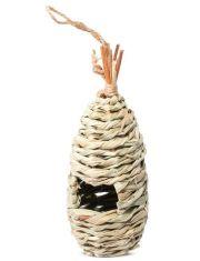 """Гнездо-Домик NATURAL для птиц из луговых трав """"Скворечник """""""