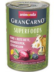 Gran Carno Superfoods c говядиной, свеклой, ежевикой и одуванчиком