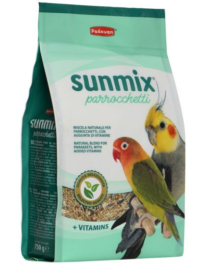 Sunmix Parrocchetti корм для средних попугаев