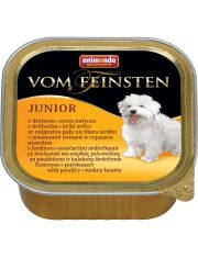 Vom Feinsten Junior для щенков, домашняя птица и сердце индейки