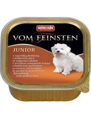 Vom Feinsten Junior для щенков с печенью домашней птицы