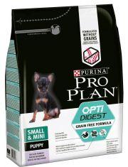 Grain Free Formula беззерновой для щенков мелких и карликовых пород с чувствительным пищеварением, с индейкой
