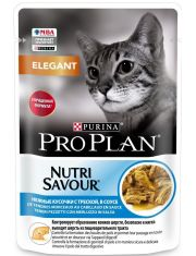 Nutri Savour® для кошек с чувствительной кожей нежные кусочки с треской в соусе