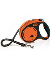Рулетка для собак Flexi Xtreme, ремень, оранжевый