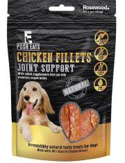 """POSH EATS Лакомство для собак """"Куриное филе. Поддержка суставов"""", ломтики"""