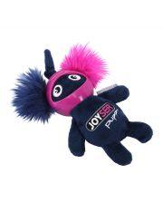Белка в резиновом шлеме с пищалкой Joyser Puppy Squirrel with Helmet, синяя