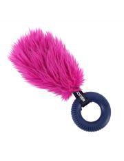 Хвост с резиновым кольцом с пищалкой Joyser Puppy Tail with Ring, розовый