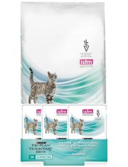 Veterinary Diets EN пакет 1,5 кг + 3 пауча EN с разными вкусами