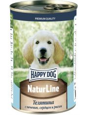 """""""Natur Line"""" для щенков телятина с печенью, сердцем и рисом"""