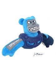 Медведь в броне с пищалкой  Joyser Squad Armored Bear, голубой