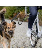 Держатель поводка к велосипеду (велоспрингер)