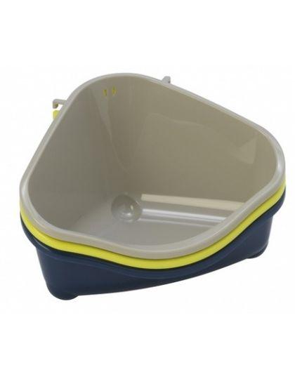 Туалет для грызунов угловой СРЕДНИЙ 35*24*18см