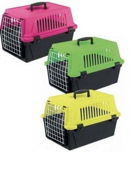 Переноска ATLAS 10 NEON (без аксессуаров) для кошек и собак, цветная коллекция