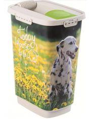 Контейнер для сухого корма CODY Природа /Собака