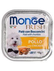 Нежный паштет из курицы PATE e BOCCONCINI con POLLO