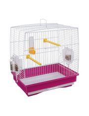 Клетка для канареек и маленьких экзотических птиц REKORD 1 цветная