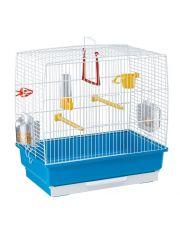 Клетка для канареек и других маленьких птиц REKORD 2 цветная