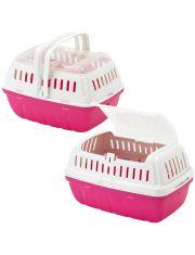 Переноска-корзинка Hipster, большая, ярко-розовая