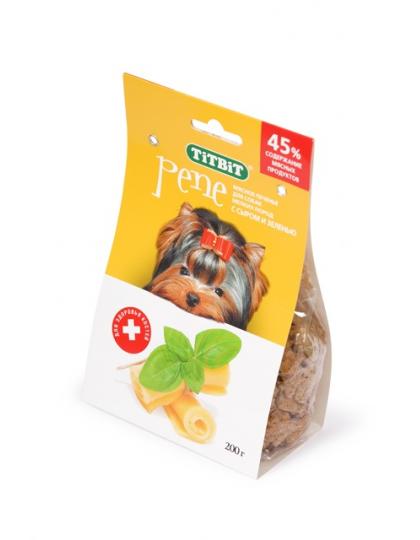PENE печенье с сыром и зеленью