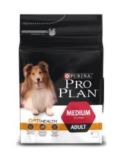 Medium Adult Chickenс комплексом Optihealth, сухой корм для взрослых собак средних пород,курица/рис