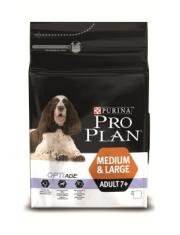 Medium & Lardge Adult 7+ сухой полнорационный корм для собак старше 7 лет средних и крупных пород с комплексом Optiage, курица/рис