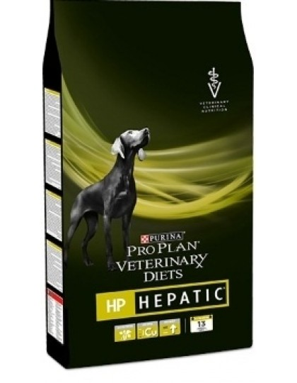 Veterinary Diets HP при нарушениях функций печени у взрослых собак и щенков от 4 месяцев