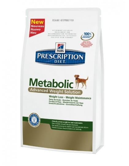 Prescription Diet Canine Metabolic — сбалансированный рацион для контроля веса собак