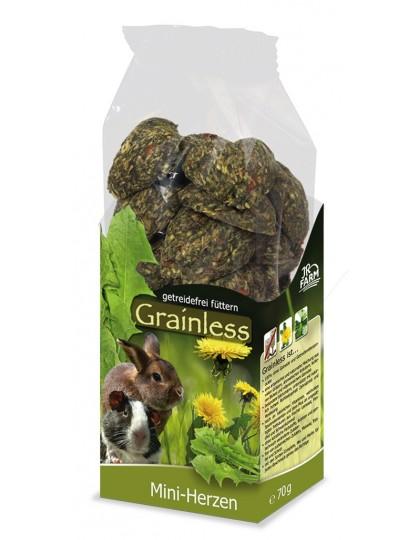 Grainless сердечки-мини, лакомство беззерновое для грызунов