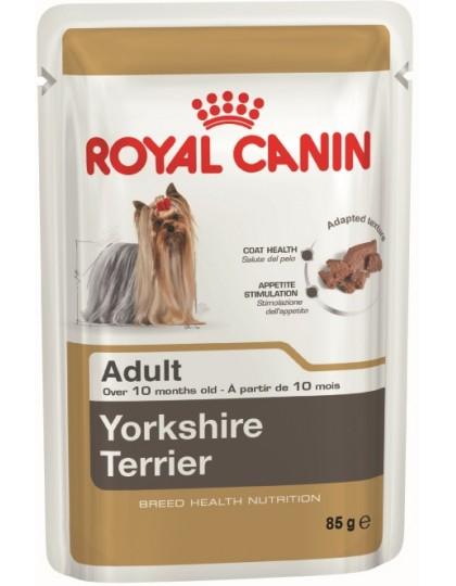 Yorkshire Terrier Adult паштетвлажный корм для собак породы йоркширский терьер в возрасте с 10 месяцев