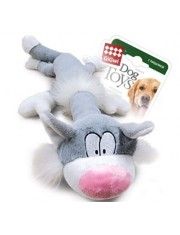 Кот с пищалкой игрушка для собак