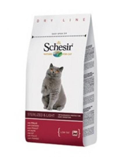 Sterilised & Light полнорационный облегченный корм для стерилизованных и кошек с избыточным весом