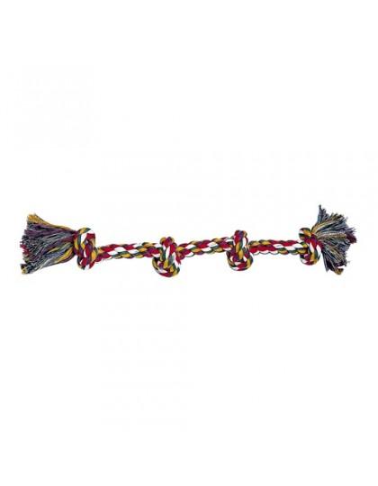 Игрушка-верёвка 4 узла,цвета в ассортименте