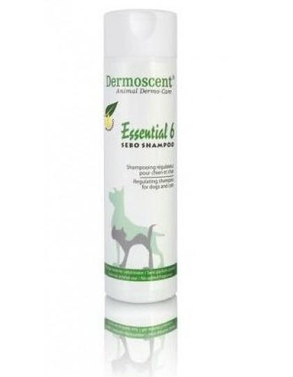 Essential 6 Sebo Shampoo - шампунь-регулятор кожных заболеваний и возникновения себореи у собак и кошек