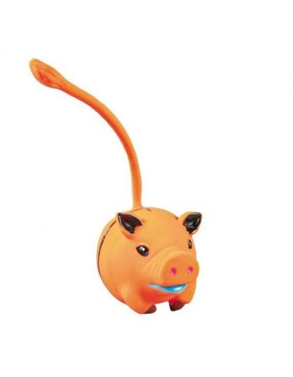 Мульти мяч с хвостиком, игрушка для собак