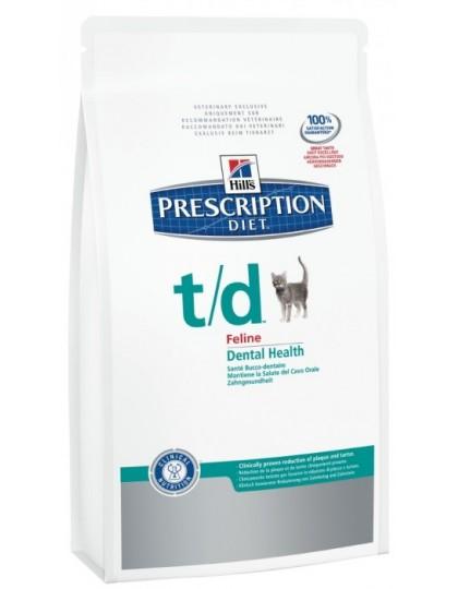 PD Feline T/D cухой корм  для кошек при заболеваниях полости рта