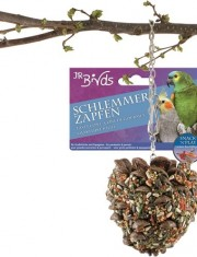 Лакомая шишка для средних и больших попугаев