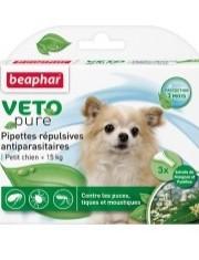 Bio капли для собак мелких пород от блох, клещей и комаров
