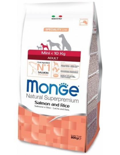 Speciality Mini корм для взрослых собак мелких пород лосось с рисом