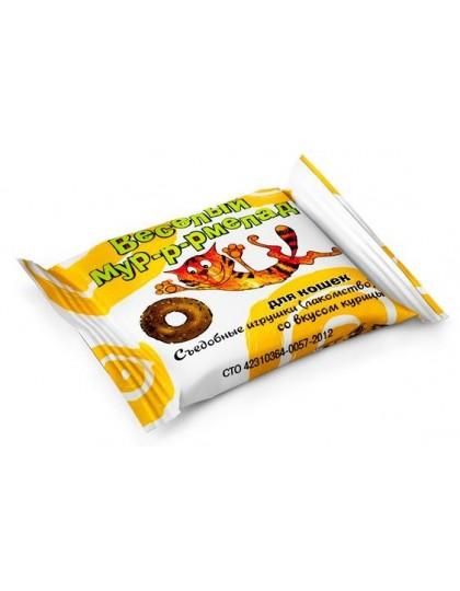 Веселый  Мур-р-рмелад со вкусом курицы, лакомство для кошек