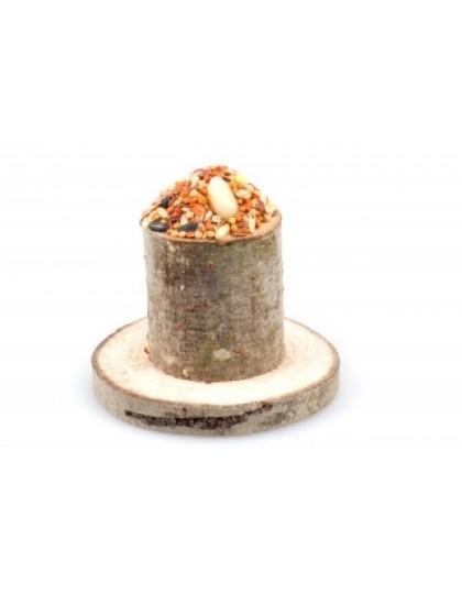 Пенёк лакомство для грызунов из натурального дерева