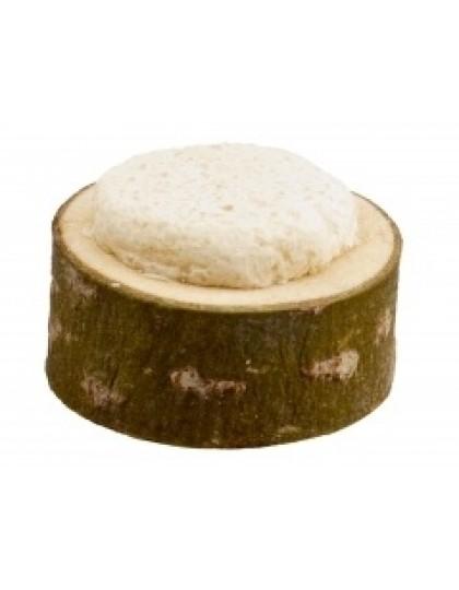 Соляной пенёк лакомство для грызунов из натурального дерева