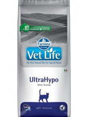 UltraHypo диетическое питание для кошек при неблагоприятной реакции на пищу (пищевая аллергия и/или пищевая непереносимость)
