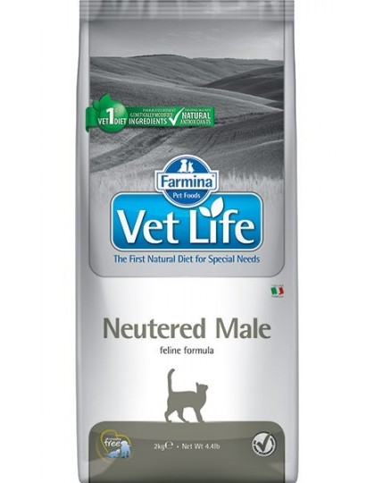 Neutered Male полнорационное и сбалансированное питание для взрослых кастрированных котов