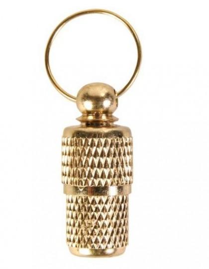 Медальон-адресник золотой