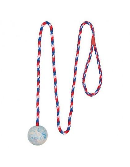Мяч на веревке игрушка для собак